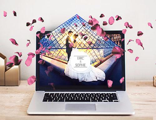 Créer un superbe site internet pour votre mariage